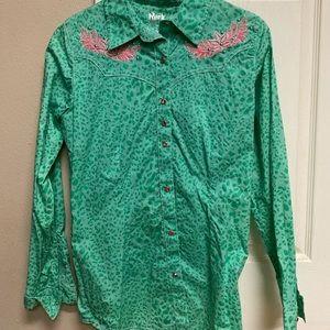 Women's long sleeve western shirt